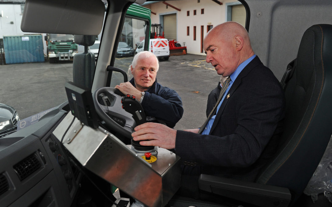 Mayo County Council show their commitment to improving the state of Mayo Roads