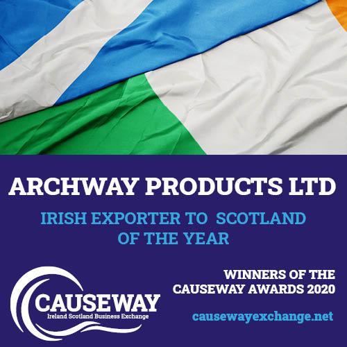 Causeway Awards – Winner Irish Exporter of the Year